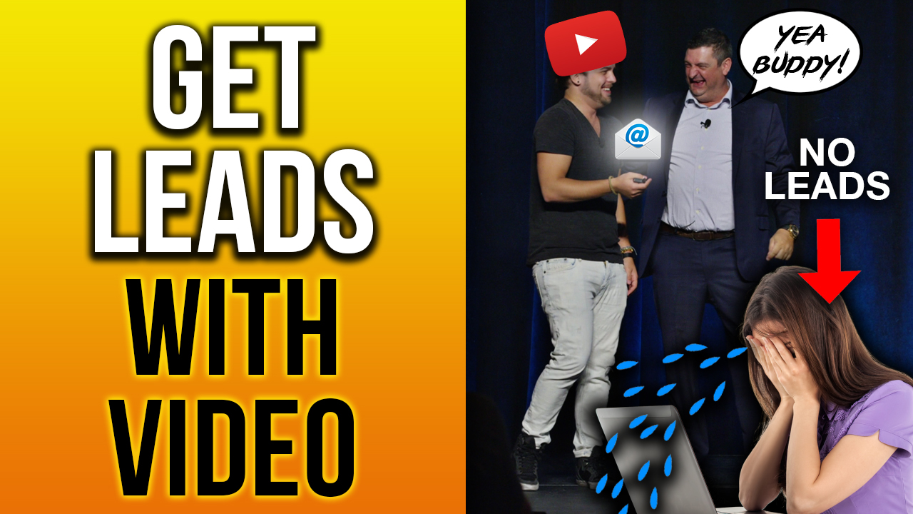 💌HOW TO GENERATE LEADS WITH VIDEO MARKETING💌(LIVE ON STAGE)