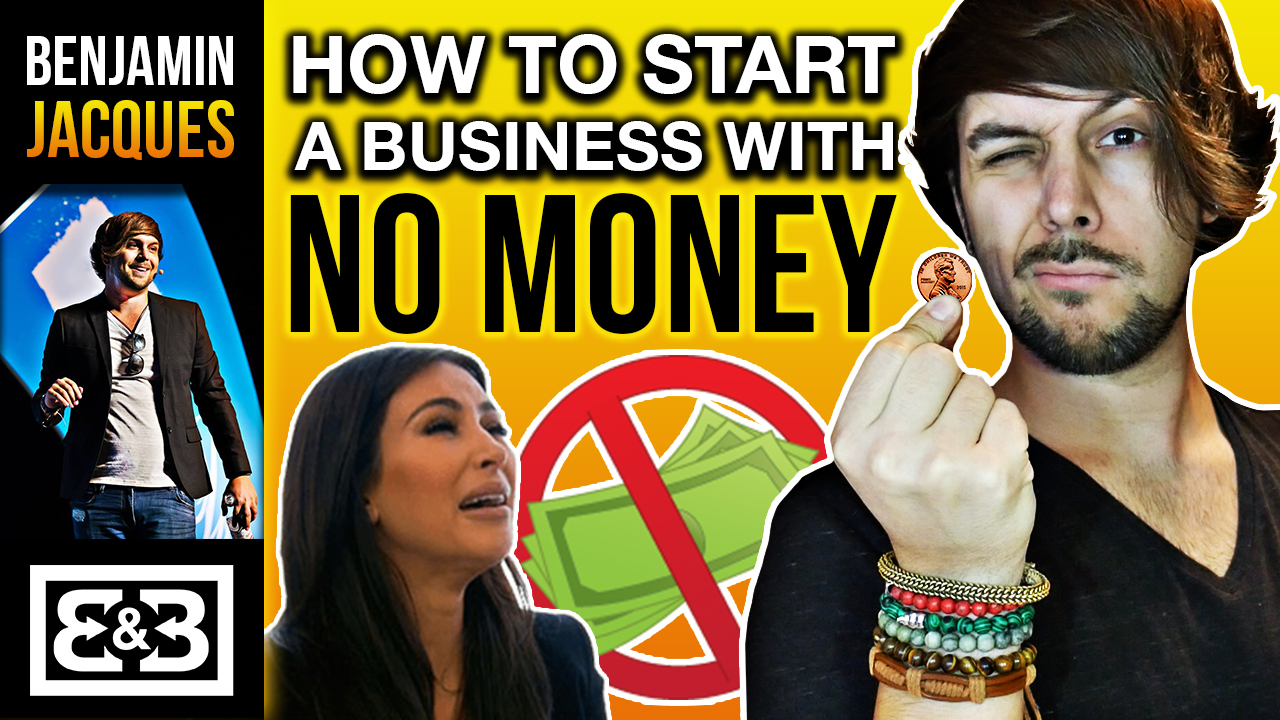 How To Start A Business With No Money, Capital Or Credit (The 3 Rules)