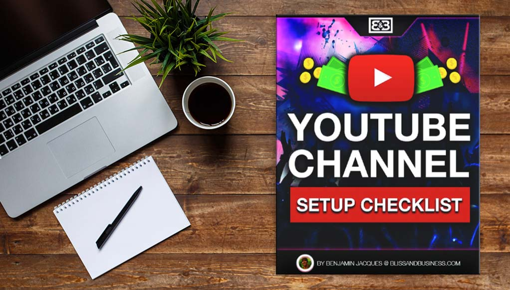 youtube channel setup checklist